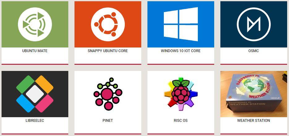 Các hệ điều hành cho raspberry pi