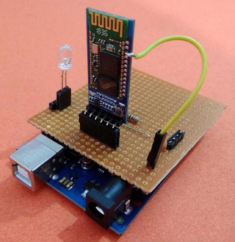 Mạch kết nối HC05 và Arduino