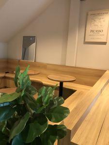 Gương thông minh dùng cho quán cafe