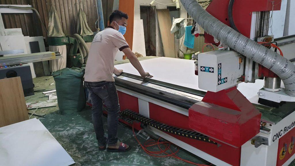 Quá trình sản xuất khung gương espimirror