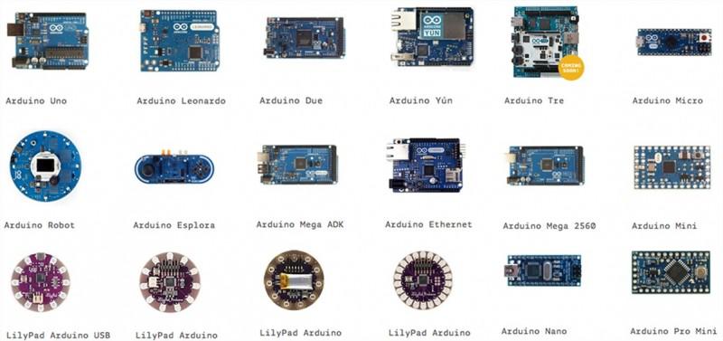 Các loại Board Arduino